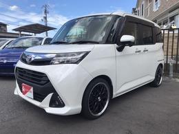トヨタ タンク 1.0 G S ローダウン 新品サス・17incアルミ TV
