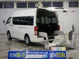 トヨタ ハイエースコミューター ウェルキャブ 福祉車輌 車椅子4基固定 パワスラ ステップ