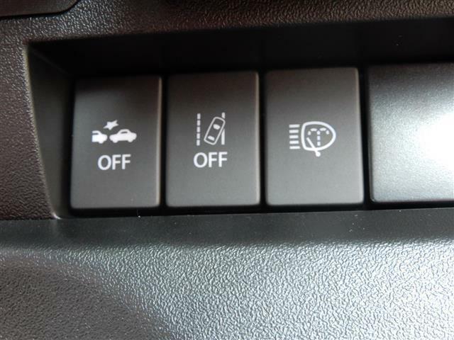 安全システムのスイッチも簡単ワンタッチで!