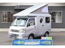 ダイハツ ハイゼットトラック 4WD バンショップミカミ テントムシ T-PO 冷蔵庫 電子レンジ 1500Wインバーター