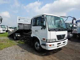 UDトラックス コンドル 増トン セフティーローダー ウィンチ付 ボディ内寸5500×2180