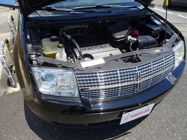 3.5L V6 6AT ガソリンはレギュラーでOKです。ご購入後のメンテナンスや車検等ぜひ当店へお任せくださいませ。