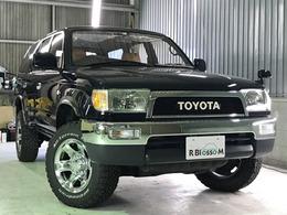 トヨタ ハイラックスサーフ 2.7 SSR-X 4WD 純正ナローボディ/プッシュスタート/11ナビ