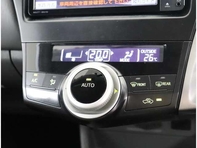 【エアコン】 オート機能付で車内快適☆