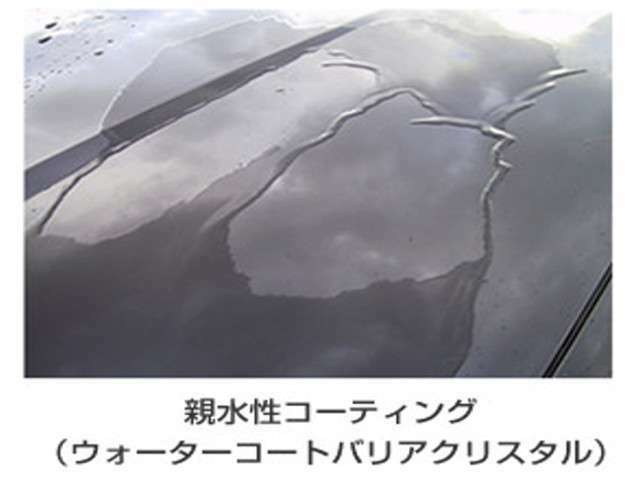 洗車はしたくないけど、綺麗に乗りたいですよね??オプションセットのボディガラスコート☆汚れも落ちやすく洗車も楽々です☆