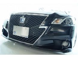 トヨタ クラウンアスリート ハイブリッド 2.5 S 新品19ホイール 新品タイヤ 新品車高調