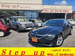 BMW 6シリーズ 630i 純正HDDナビ サンルーフ 革シート クルコン