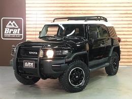 トヨタ FJクルーザー 4.0 ブラックカラーパッケージ 4WD F2.5インチ R1.5インチリフトアップ