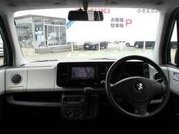 ドライバー目線の画像です!目線が高めなので、遠くまで見渡せ視界はとてもいいです!視界の良さは安全運転に直結するので大切です!
