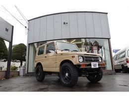 スズキ ジムニー 660 ランドベンチャー 4WD ベージュ全塗装 社外前後バンパー