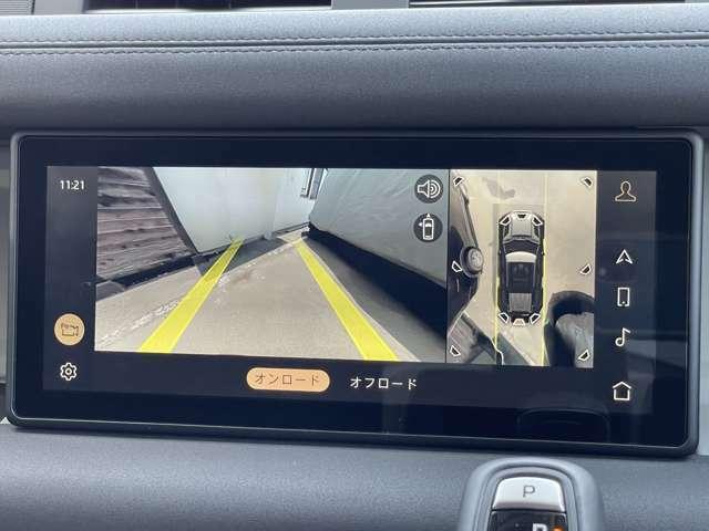 鮮明なカメラ画像にて車庫入れをサポートしてくれます!