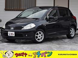 日産 ティーダ 1.5 15M FOUR 4WD 夏冬タイヤ付き サビ無 Eスタ 車ケン4/11月