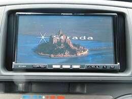 純正HDDナビにフルセグ付き!DVDも再生可能です