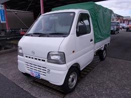 マツダ スクラムトラック 660 KA エアコン付 3方開 エアコン/幌付(前後ジッパー)/ラジオ