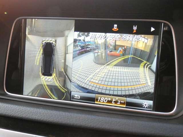 目視で確認する事が難しい後方を映し出すガイドライン付きバックカメラ&全方位カメラを装備!狭い箇所での駐車等も安心して頂けます!パークトロニックセンサーと併せてご使用下さい!047-390-1919
