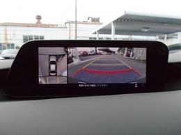 解析度もアップした360度ビューカメラ!より安心してより安全に車庫入れ可能に!!