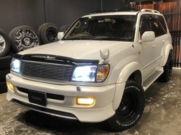トヨタ ランドクルーザー100 4.2 VXリミテッド Gセレクション ディーゼルターボ 4WD 社外ナビ/Bカメラ/サンルーフ/クルコン