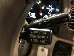 クルーズコントロール搭載。高速もラクラク走行できます!!