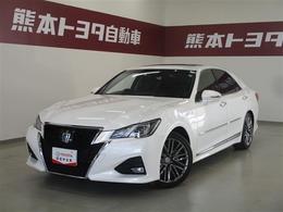 トヨタ クラウンアスリート ハイブリッド 2.5 G TSSP・ICS・本革・ムーンルーフ・ドラレコ