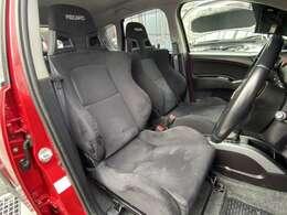 乗ってみたらすぐに違いの分かる、RECARO社製フルバケットシート!