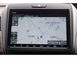 ギャザズメモリーナビゲーション(VXM-207VFNi)。リンクアップフリーは通信をしつつ最新のデータの交通情報が入り、すいてるルートを選んで快適ドライブ!