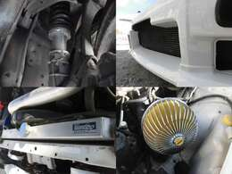車高調 カルソニックIC BLITZラジエーター トラストエアークリーナー