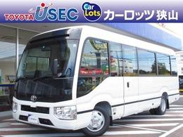 トヨタ コースター EX 純正SDナビ バックカメラ ETC