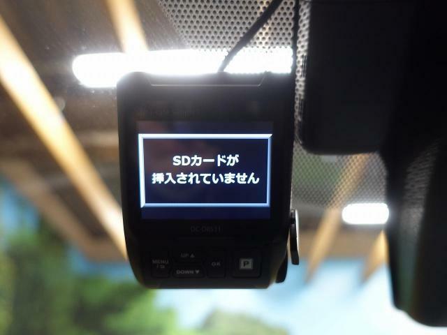 安心安全のドライブレコーダー搭載☆