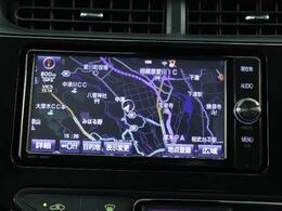 トヨタ純正メモリーナビ☆目的地の設定など操作のしやすいナビです