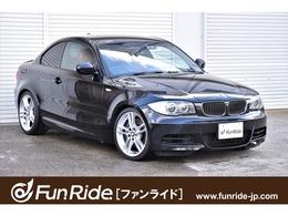 BMW 1シリーズクーペ 135i 6速MT・赤革・純ナビ・Bカメラ・禁煙車