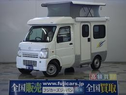 マツダ スクラムトラック AZ-MAX K-ai ベンチタイプ 4WD 社外ナビ シンク コンロ サブバッテリー