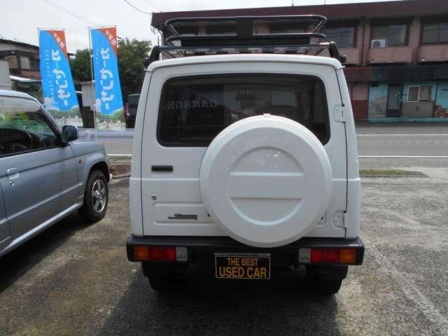 背面タイヤ、ホワイト塗装済み