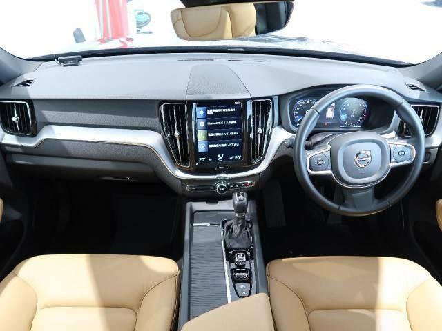 XC60 T5 AWD モメンタム入庫しました!人気のオニキスブラックです!内外装ともに良好な一台!ボルボの先進安全装備、インテリセーフはもちろん標準装備の安全第一のお車です!