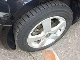 冬タイヤの状態。交換を推奨します!