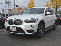 BMW X1 xドライブ 20i xライン 4WD ワンオーナー・TV・ドラレコ付き