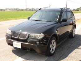 BMW X3 2.5si 4WD サンルーフHIDETC