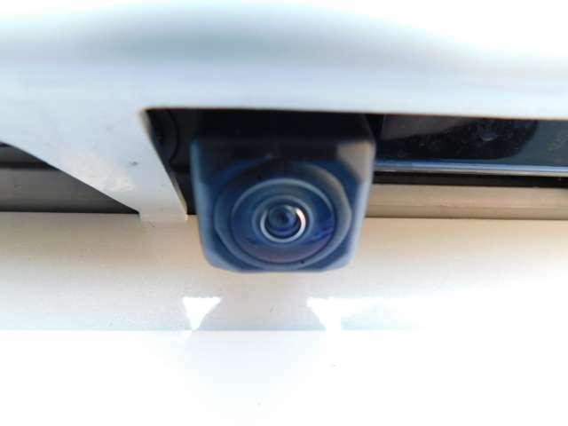 アップグレードパックのリヤカメラ
