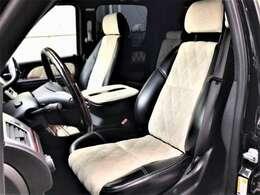 車内内装は天井まで張替済みで、シートもブラック&ホワイトで張替済みとなっております。