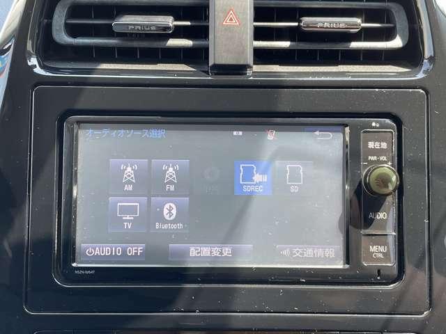 フルセグTV・Bluetoothも搭載してます!