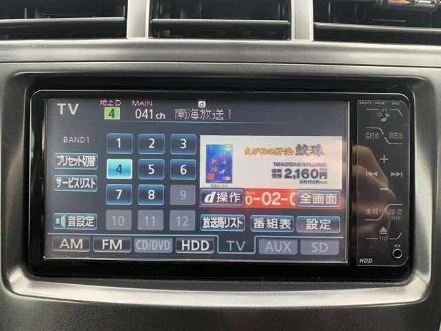 純正HDDナビ(DVD・地デジ)