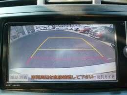 バック駐車が苦手な方でも、バックカメラ付きで安心です☆
