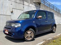 日産 キューブ 1.5 15X 車検整備付・プッシュスタートスマートキー