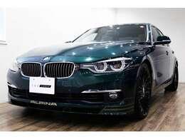 正規ディーラー車 2016年モデル BMW ALPINA D3ツーリング 右ハンドル アルピナグリーンメタリック/サドルブラウンダコタレザー
