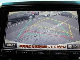 バックガイドモニターが付いてます。駐車が得意な方も苦手な方も安心できるサポート装備!人の目+カメラの目、付いてると、便利ですよ♪