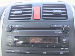 【純正オーディオ】CDやラジオも聴けるので運転も楽しくなりますね!!