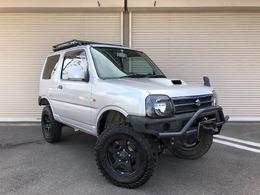 スズキ ジムニー 660 XG 4WD 3インチリフトアップ ターボ 社外ナビ
