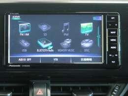 TV・ラジオだけでなくSDカードやBluetoothにも対応したオーディオとなっています。