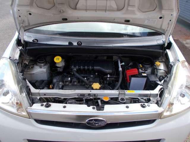 エンジンルームも機関良好!バッチり整備してご納車させて頂きますのでご安心を!