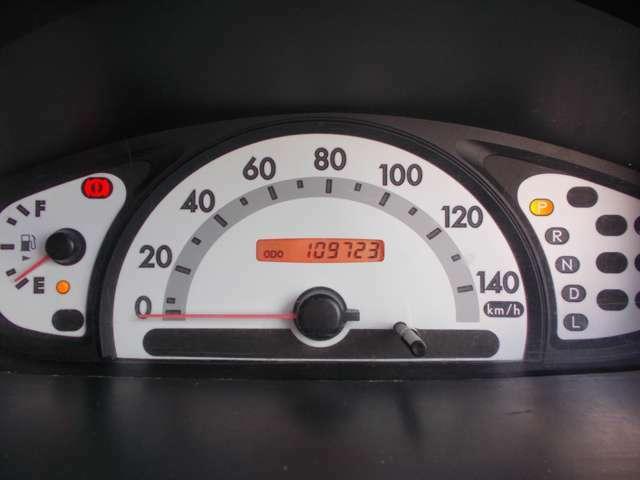 走行距離109,723kmです。