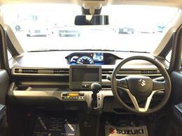 開放感のある大きなフロントガラス 見晴らしも良く運転しやすいと人気があります